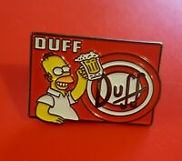 Homer Simpsons Pin Duff Beer Simpsons Enamel Metal Brooch Lapel Badge Adult Gift