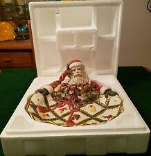 Fitz & Floyd Classics Renaissance Santa Serving Tray