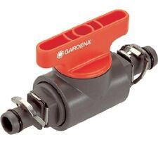 Gardena Micro Drip Absperr Ventil 8357-20, 2 Regler, 4,6mm, Schlauch Druckregler
