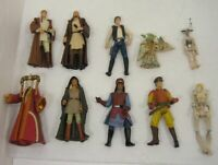Lot/10 Star Wars 1999 Figurines Action Figures Hasbro