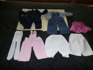 Clothes for 18 & 15 inch Dolls Fits American Girl Dolls