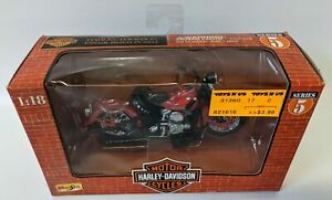 Vintage 1998 MAISTO 1:18 HARLEY DAVIDSON '1948 FL PANHEAD' Motorcycle, NEW