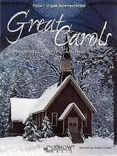Great Carols: Instrumental Solos for Christmas: Piano and Organ Accompaniment by