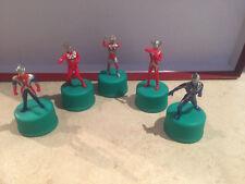 Ultraman gashapon tappi  caps 5 figures serie TV Film Movie model fantascienza