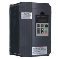 2.2KW 220V AC 12A Single Phase Variable Frequency Inverter General Purpose Gray
