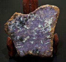 Lavender Purple Lepidolite Slab Rough Cabochon Specimen Jewelry from California