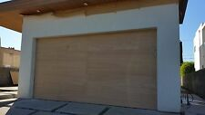 Lucas Design - [16' x 7'] Modern Style Custom Solid Cedar Wood Garage Door