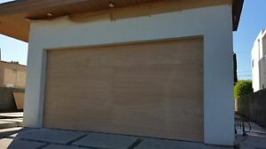 Lucas Design - [16' x 7'] Modern Style Custom Wood Garage Door