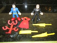 Fisher Price Imaginext DC Justice General Zod sword villain Superman Returns lot