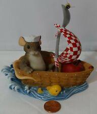 Charming Tails Longaberger Glad We're In The Same Boat Together Se 98/336