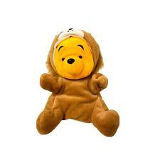 Disney Winnie The Pooh Hand Puppet Brown Lion Plush Stuffed Animal Toy 22cm