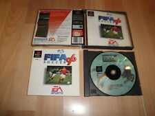 FIFA SOCCER 96 DE EA SPORTS PARA LA SONY PS1 VERSION ORIGINAL USADO COMPLETO
