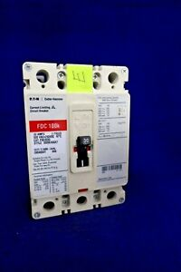 EATON CUTLER HAMMER FDC3030 CURRENT LIMITING CIRCUIT BREAKER 30 AMP 3 POLE