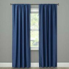 "99.9% Blackout Curtain 50""W x 63""L Project 62 Blue Henna"