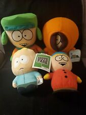 Comedy Central South Park Plush Lot of 4 Butters Kenny Cartman Kyle