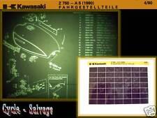 Kawasaki Z 750_A5_Ersatzteilkatalog_Microfich_Fich_1980