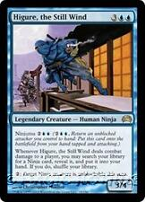 HIGURE, THE STILL WIND Planechase 2012 MTG Blue Creature — Human Ninja RARE