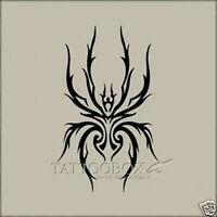 Reusable airbrush stencils templates  - Spider (Large size)
