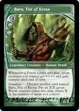 BARU, FIST OF KROSA Future Sight MTG Green  Creature — Human Druid RARE