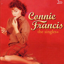 Connie Francis Singles + 2 x CD  Import Pop Rock Oldies SEALED CASE HAS CRACKES