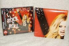 "Avril Lavigne Rock N Roll Taiwan Cd w/Obi +""Folded"" poster"