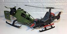 Vintage Hasbro Gi Joe Cobra ARAH Lot Sky Hawk Fang Helicopter