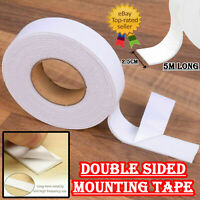 Strong Double Sided Sticky Tape Foam Adhesive Craft Padded Mounting Heavy Duty