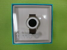 Pebble Time Round 20mm Smartwatch Apple/Android - Silver 601-00050 - New