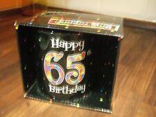 New Boxed Jumbo Mug Celebrating A 65th Birthday