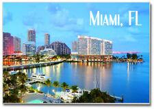 View of Miami, Florida, City, FL 2 x 3 Fridge Souvenir Travel Magnet #MIA205