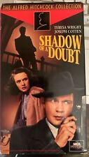 Shadow of a Doubt (Vhs) 1942 Hitchcock classic stars Joseph Cotten