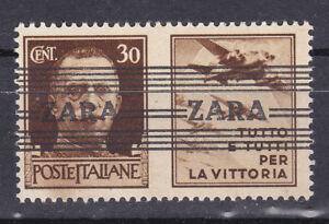 Germany DR / Besetzungsausgabe Zara 1943 Mi. Nr. 36 1 Type V/IV Aircraft MNH