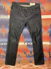 Rogue Territory Stanton Slim Fit Jeans 12 Oz. Neppy Japanese Denim 34 X 36