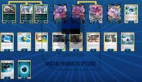 Standard PTCGO Eternatus V Vmax Crobat V deck Pokemon online tcg Digital