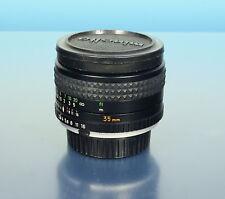 Minolta MC W.ROKKOR 2.8/35mm Lens objectif Objektiv für Minolta MC - (42205)