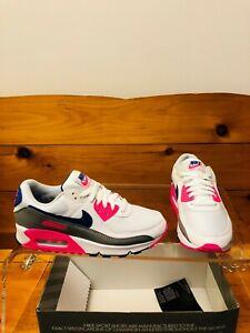 Nike Air Max 3 Running Shoe Women's Sz 8 White/Pink Blast CT1887-100 NEW