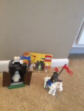 LEGO Castle Black Knights Black Monarch's Ghost (#6034) With Box 100% Complete
