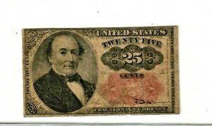 "25 CENT ""FRACTIONAL CURRENCY"" 1800'S (WALKER) ""FRACTIONAL CURRENCY"" 1800'S"
