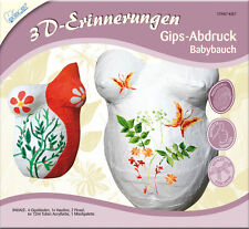 Kreativ Set 3D Erinnerungen KSE7 Gips Abdruck für Ihr Babybauch