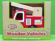 610062 2-Play Holzfahrzeug Feuerwehr