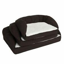 Brand New Orthopaedic Memory Foam Dog Bed - Brown / Beige S/M/L