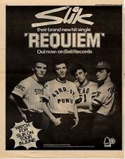 Slik Midge Ure Requiem UK '45 advert 1976