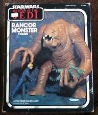 VINTAGE STAR WARS MADE IN MEXICO ROTJ 1983 RANCOR MONSTER MIB 100% COMPLETE