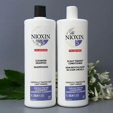 Nioxin System 5 Cleanser & Scalp Therapy Duo 33.8 oz / Shampoo and Conditioner
