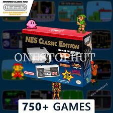 Authentic Nintendo NES Classic Edition Mini Entertainment System 750+ Games