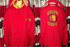 90's Hockey Eishockey Dusseldorf  Germany Jacket  (XL/XXL) Red Shirt Jersey