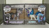 Funko Vinyl My Little Pony Lot DJ PON-3 and OCTAVIA MELODY