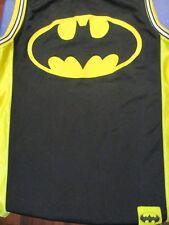 L black/yellow BATMAN LOGO JERSEY t-shirt unbranded