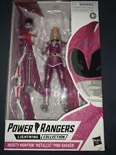 Lightning Collection Mighty Morphin Power Rangers Metallic Pink Ranger - In Hand