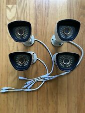 Set of 4 Samsung SDC-7340BCN WeatherPrf Camera CCTV Night V + BNC Cable SDC-7340